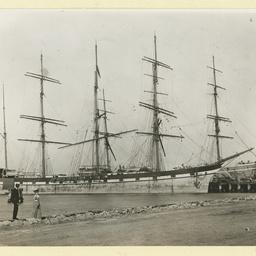 The 'Loch Nevis' in an unidentified port