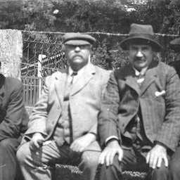 Dr. Edward Angas Johnson and friends
