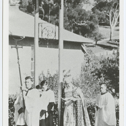 Dedication of the bell tower at St. Hugh's Church, Angaston