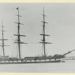 'The Lord Warden' moored at Gravesend, U.K.
