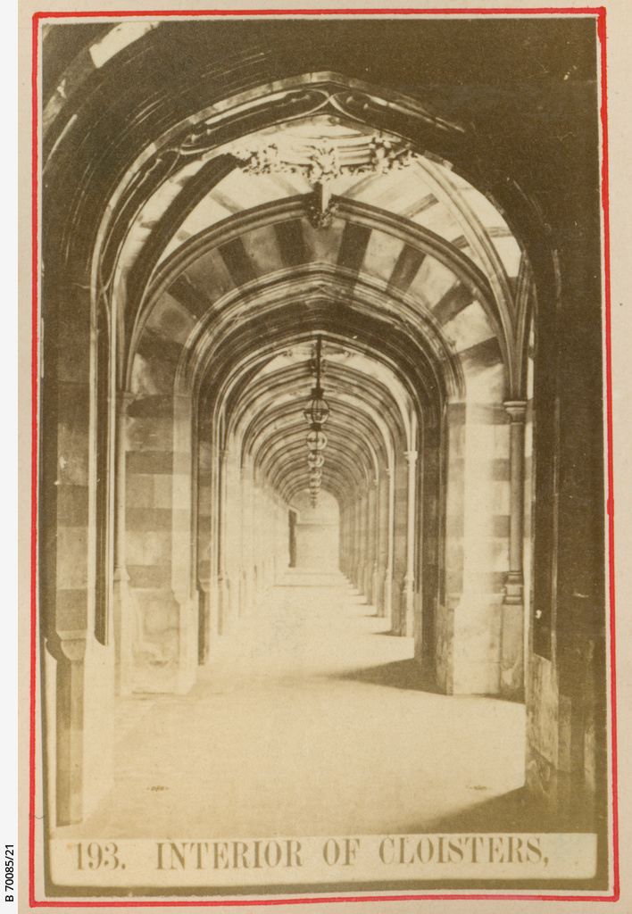 Interior of Cloisters