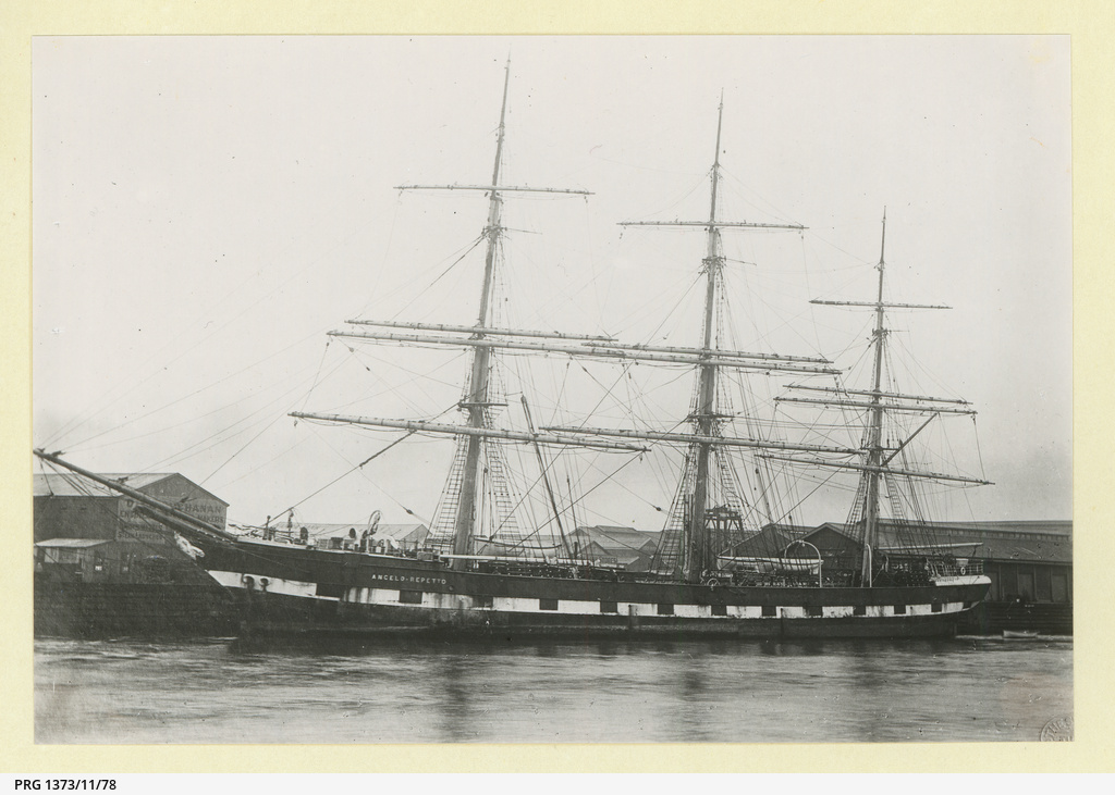 The 'Cape St. Vincent' later named the 'Angelo Repetto' at Melbourne