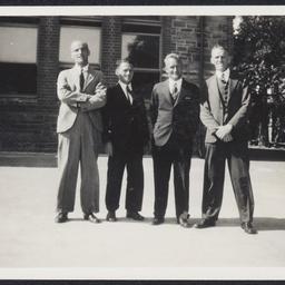 Four teachers from Sturt Street School