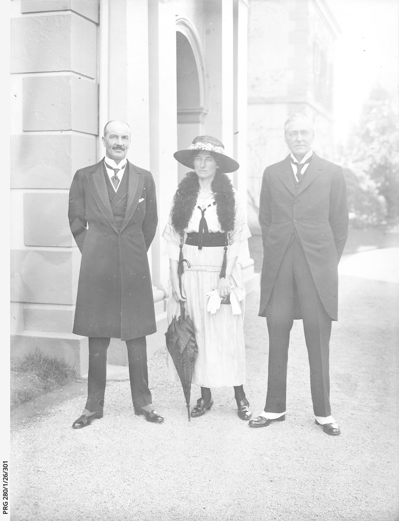 Lord Forster, Governor-General of Australia visiting Adelaide.