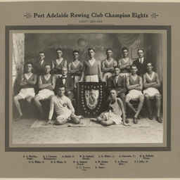 Port Adelaide Rowing Club Championship Eights 1927-28-29