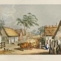 Klemzic, a village of German settlers