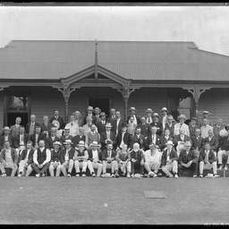 Members of the Norwood Bowling Club