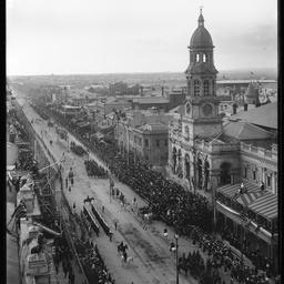 King William Street parade