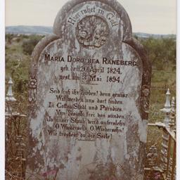 Marea Dorothea Raneberg headstone