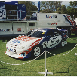 A Ford V-8 racing car at Adelaide Clipsal 500