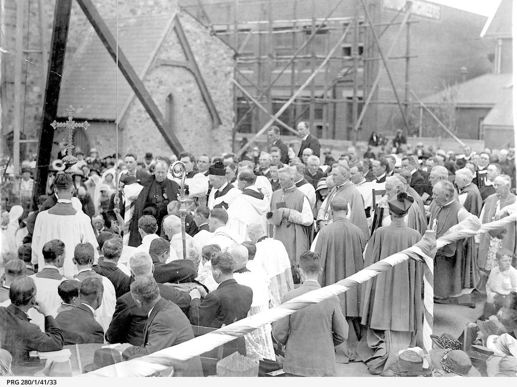 Dedication service at St. Francis Xavier cathedral