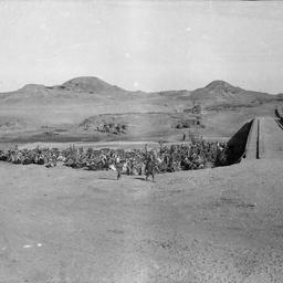 Troops resting.