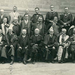 Adelaide University professors and staff