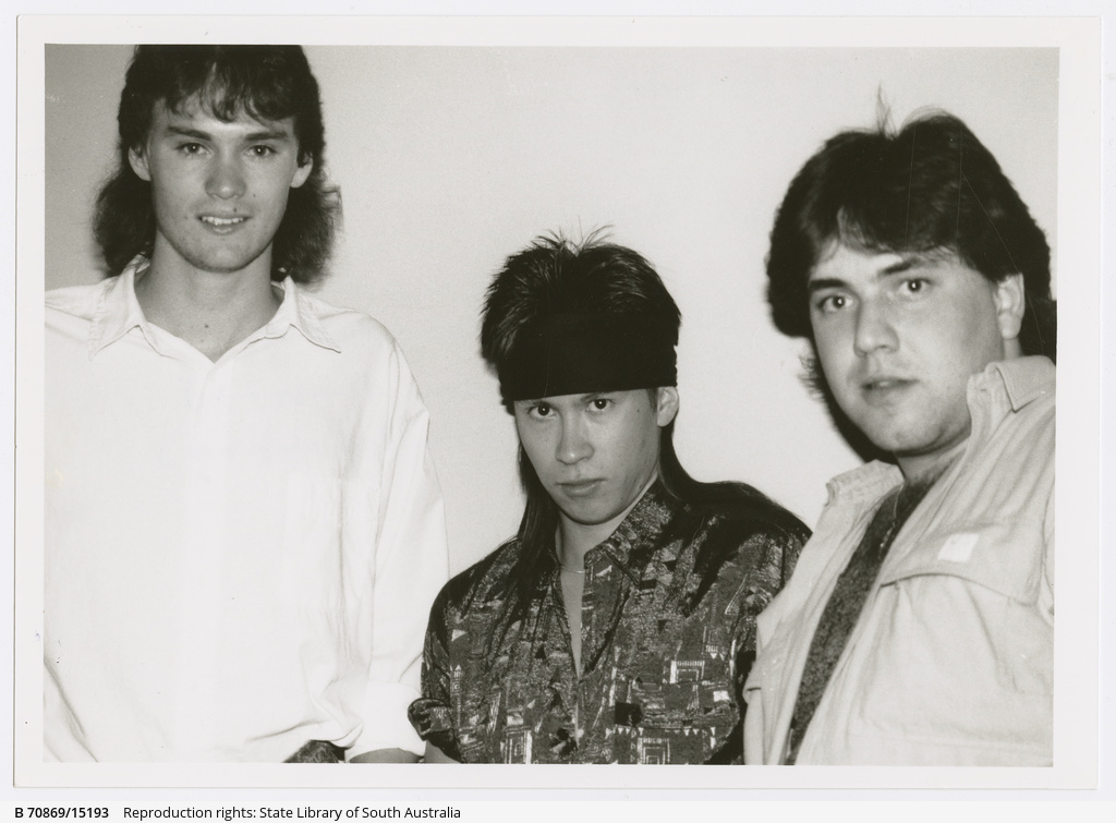Twilight Zone, (left to right), Allan Mangleson, guitar and vocals; Jason Sym Choon, bass and vocals; Mario Marino, drums and vocals.