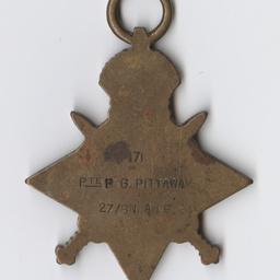 1914-15 Star medal.