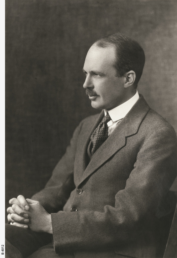 Portrait of William Lawrence Bragg