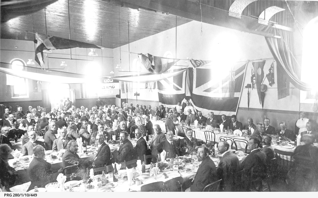 Banquet at Willunga, South Australia