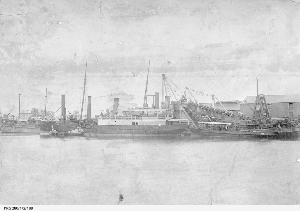 Shipping at Port Adelaide