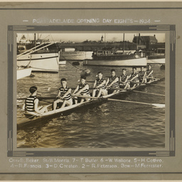 Port Adelaide Opening Day Eights 1934
