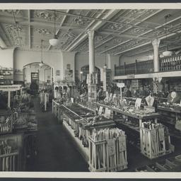 Interior of SA Farmers' Co-operative Union merchandise store