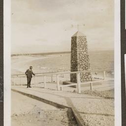 Captain Collet Barker memorial