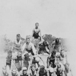 Human pyramida