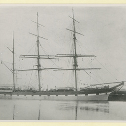 The 'Loch Sloy' docked in an unidentified port