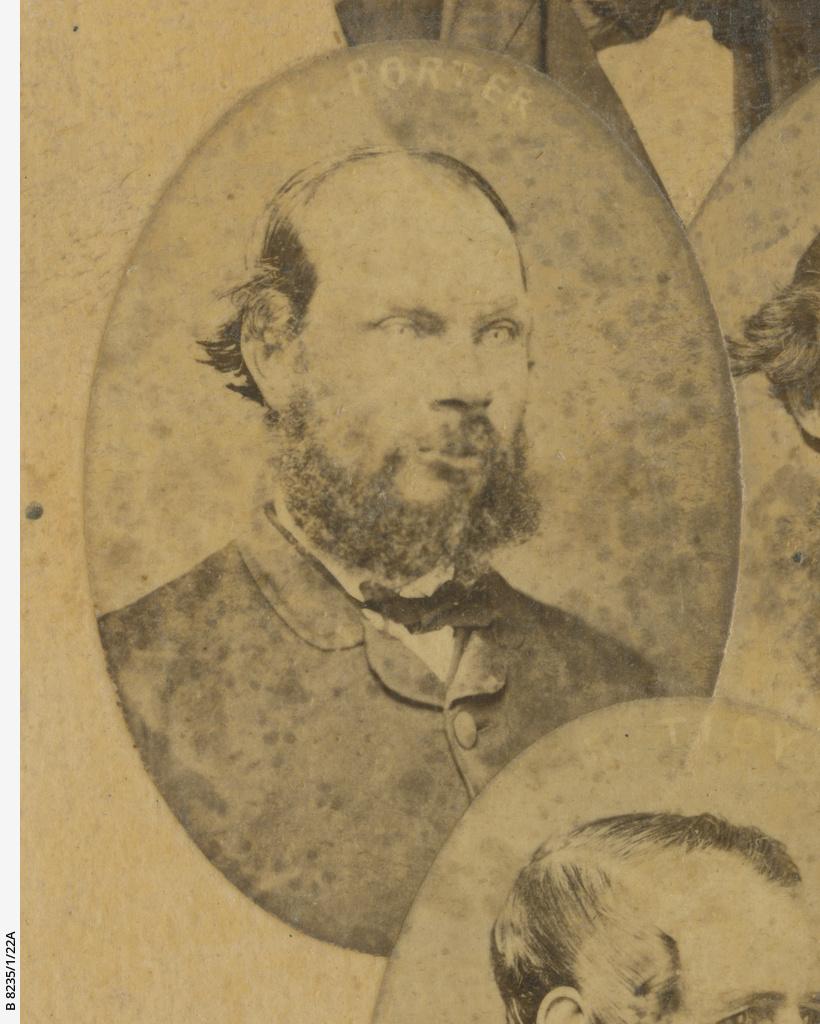Old colonists 1836-1840 : James Porter