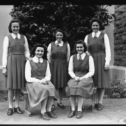 Students at Mount Gambier's Convent School