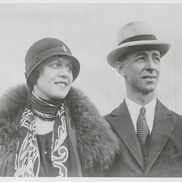 Sir Keith and Lady Smith.