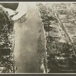 Aerial view of Basra.