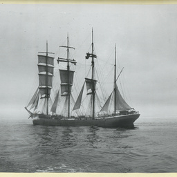 The 'Forteviot' under sail