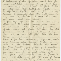 Letter From Ross Smith During World War I To His Mother Palestine Manuscript State Library Of South Australia