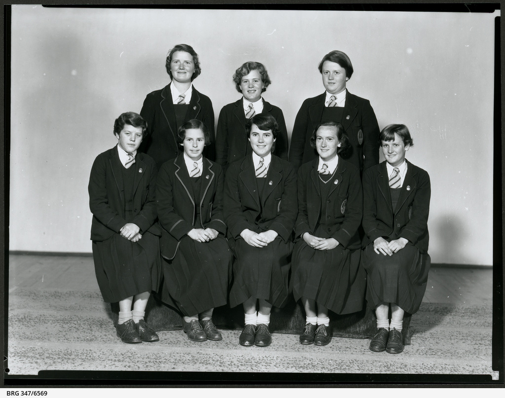 Senior girl students from Mount Gambier High School