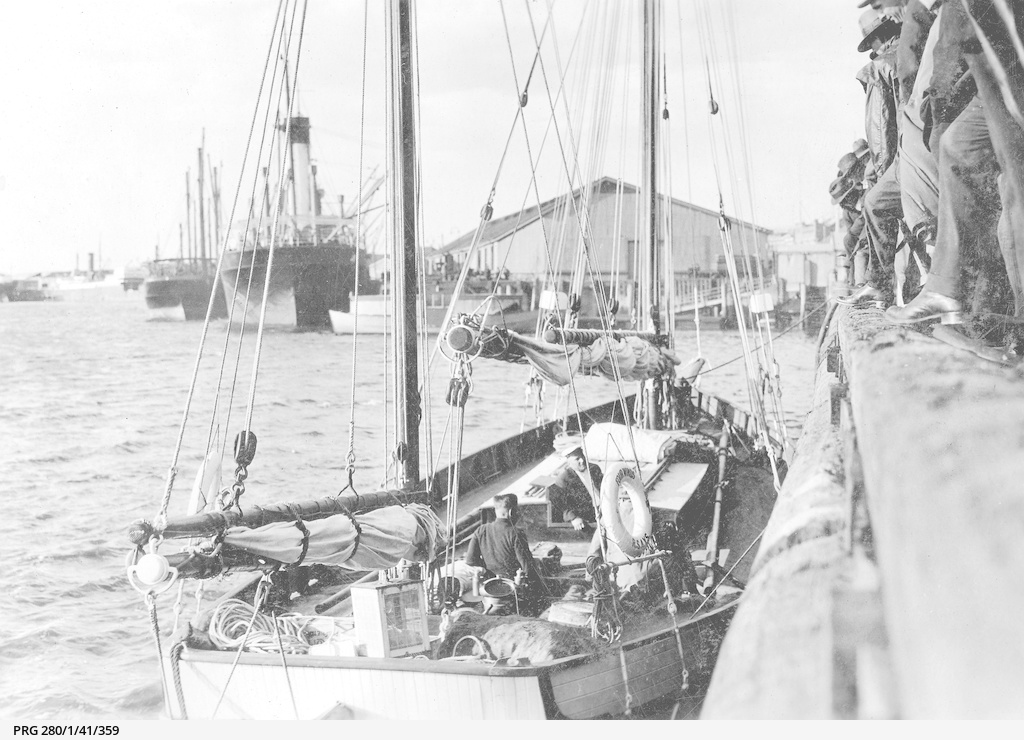 Yacht 'Four Winds' at Port Adelaide