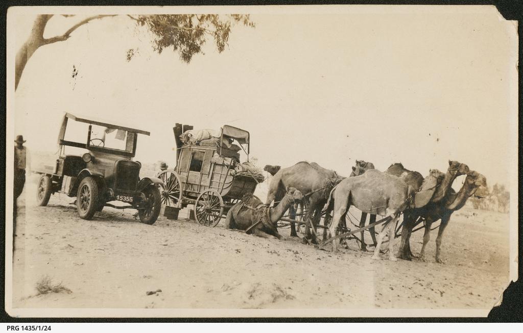 Mail coaches, Cobbler Desert