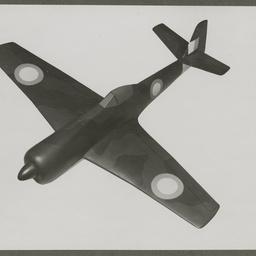 Model aircraft.