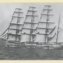 The 'Glencaird' under sail