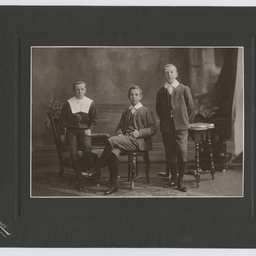 Portrait of Colin, Keith and Ross Smith