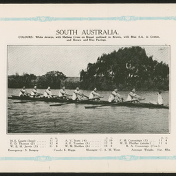 South Australian Rowing Association : SUMMARY RECORD