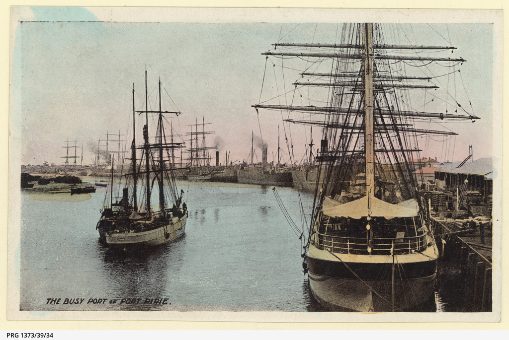 Shipping,Port Pirie about 1910