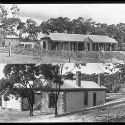 Isolation building at Kalyra Sanatorium