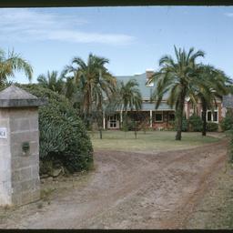The entrance to Wittunga farm house