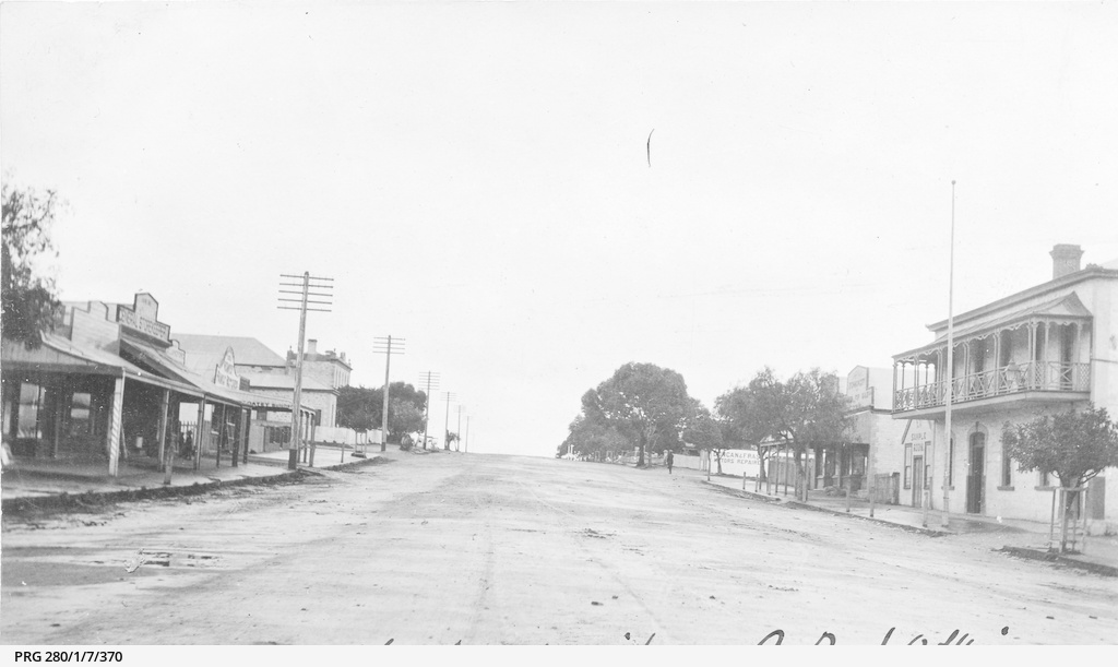 The main street at Maitland, South Australia