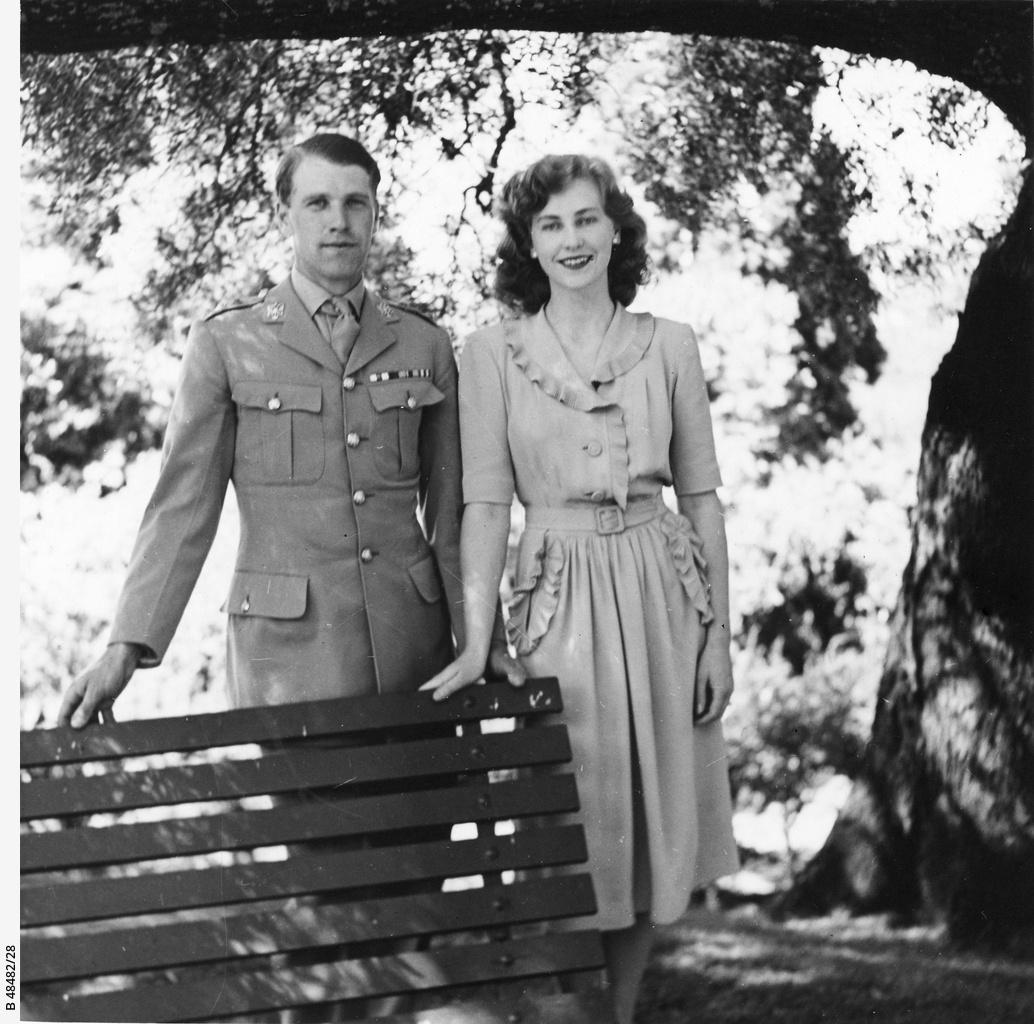 John Richardson and Kathleen Price-Turner