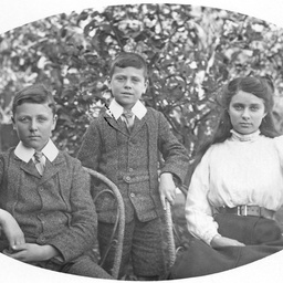 Jack, Ronald, and Beatrice Searcy