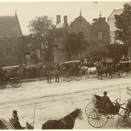 Dean Russell's funeral at St Pauls