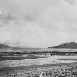One of nine general landscape and coastal views of Palm Island