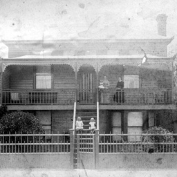The Searcy family home in Albert Street, Semaphore