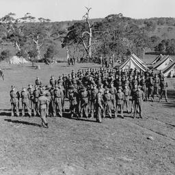 Military cadet camp at Woodside